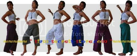 ladies wrap pants
